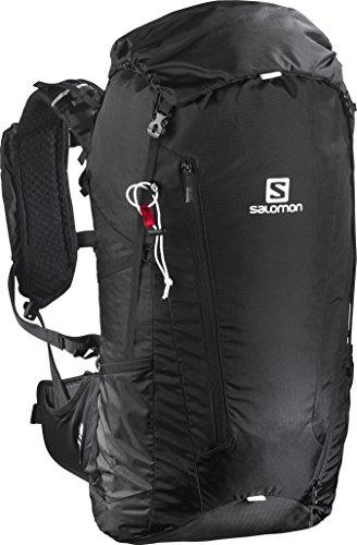 Salomon L39294100, Zaino Leggero da Escursionismo 40 l Peak 40 Unisex Adulto, Nero