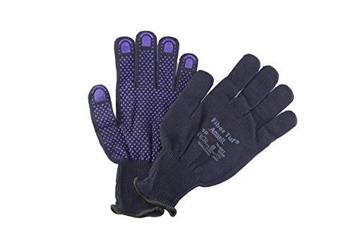 12x Ansell FiberTuf 76-501 PVC funziona guanti blu Gr. 10, Dimensione:9