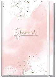 Bullet Journal dotted A5 mit Gummiband [Blush] 156 Seiten | Notizbuch gepunktet, Tagebuch von Trendstuff by Häfft | nachhaltig & klimaneutral