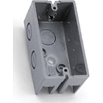 Thomas /& Betts 3G4DV-1//2 P27SL4 3 Gang 4X6 Box Galvanized 5-13//16-Inch Length by 4-Inch Width by 2-1//8-Inch Depth