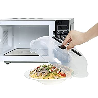 Microwave Hover Anti-Sputtering Cover Gookit  Prevent Food Splatter Cover Convenient with Magnetic