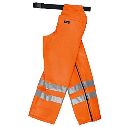 Stihl Ringsum Beinschutz mit Schnittschutz Hose Orange Gr. L-XL 0000 884 0869
