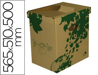 Fast 100725926 Nature Line - Papelera de montaje manual, color crudo
