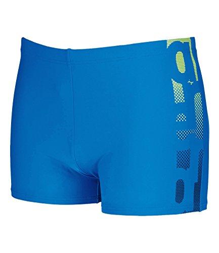 Arena Herren Badehose Badeshorts Schwimmshorts Gutar Short, Farbe:Blau;Wäschegröße:M;Artikel:-86 pix-blue / leaf / navy