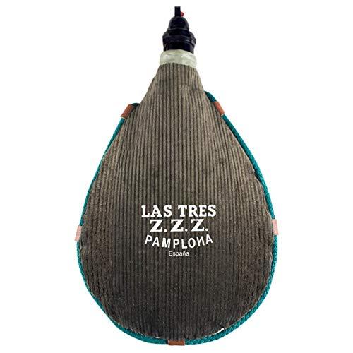 Bota de vino de pana Las Tres ZZZ (1,5 litros)