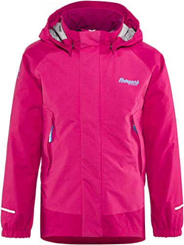 Bergans Knatten Veste Enfant, Hot Pink/Cerise/Light Winter Sky Taille Enfant 86 2018 Veste Polaire