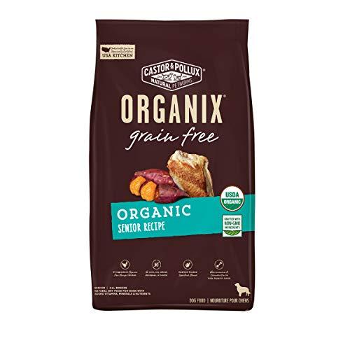 Castor & Pollux ORGANIX Grain Free Organic Senior Recipe Grain Free Dry Dog Food - 4 lb. Bag