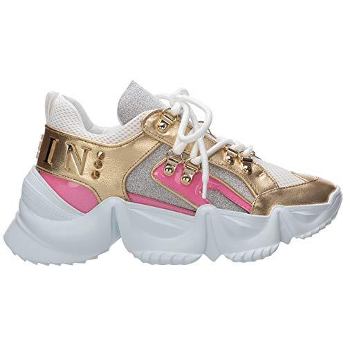 PHILIPP PLEIN Sneakers Runner Crystal Donna Fuxia 37 EU