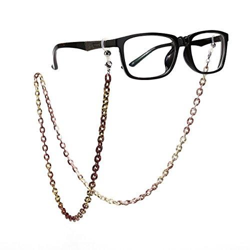 Tinksky Tinksky Brillenkette Brillenhalter Aluminium Brillenband Sonnenbrillen Gläser Halterung