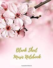 Blank Sheet Music Notebook: Music Manuscript Paper, 13 Stave, 100 pages, A4, 8.5