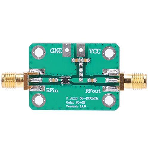 RF Amplifier Module, High Gain 8‑16GHZ Output Frequency RF Module, 4‑8GHZ Input Frequency 2 Magnification for Shortwave FM Radio Remote Control Receiver