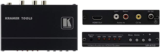 Kramer 90-041090 VP-410 Composite Video & Stereo-Audio to HDMI Scaler