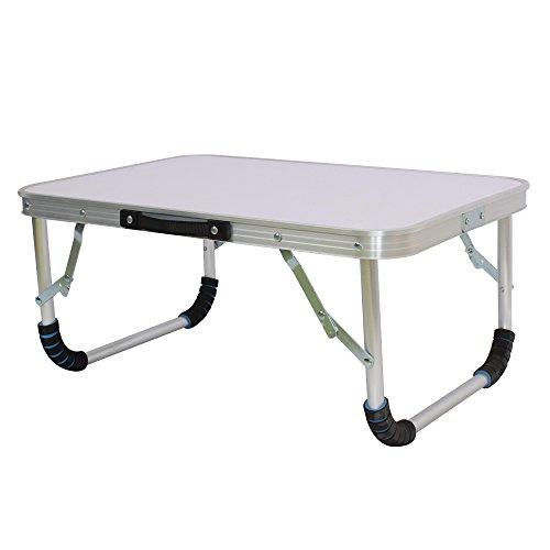Petite table pliante pour ordinateur, bureau, lit, canapé, camping, pique-nique, barbecue