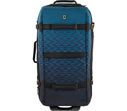 Victorinox Vx Touring Bolsa de Lona Grande con Ruedas con cerraduras aprobadas por la TSA, Verde Azulado Oscuro (Azul) - 601483