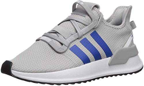 adidas Originals Unisex-Kid's U_Path Running Shoe, Grey/Blue/White, 6 M US Big Kid