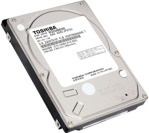 Toshiba 3TB, 5400 SATA 16MB **New Retail**, MQ03ABB300 (**New Retail**)