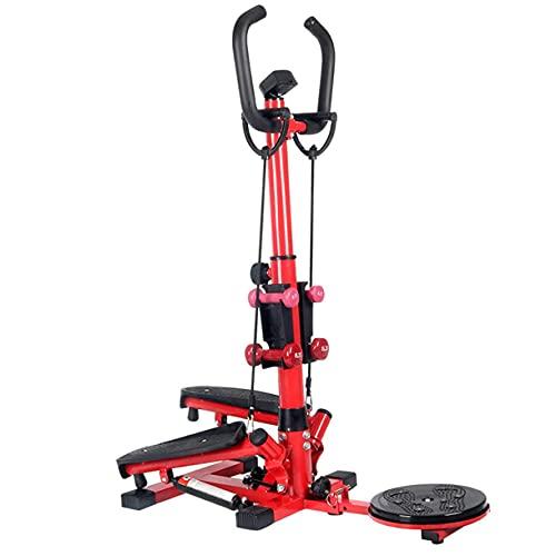 Hausübliche Ausrüstung, Up-Down-Swing-Kreuz-Trainer Fitness Cardio WeightLoss-Trainingsschritt Kleines und kompaktes Gymnastik-Ausdauer-Training Mini-Elliptik/Stepper 120 kg/Commodity-Code: LXJ -