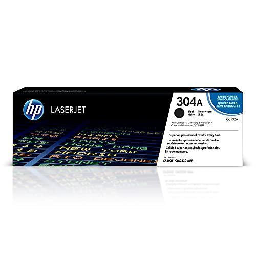 HP -Cartucho de tóner original para impresoras LaserJet. Color negro. CC530A 304A