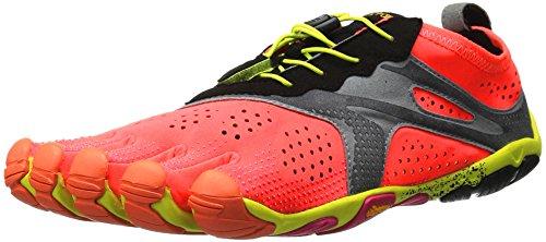 Vibram FiveFingers 17W7004 V-RUN, Sneaker Damen, Orange (Feurige Koralle), 42 EU