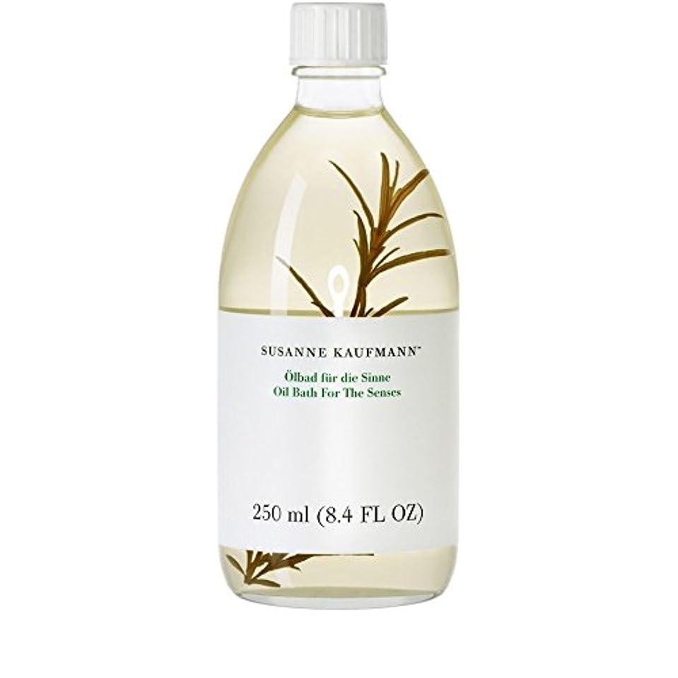ドラゴンスポークスマン免除するSusanne Kaufmann Oil Bath for the Senses 250ml (Pack of 6) - 250ミリリットルの感覚のためのスザンヌカウフマンオイルバス x6 [並行輸入品]