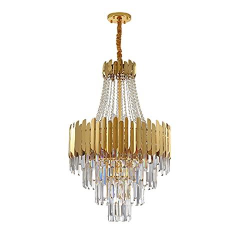 LLLKKK Villa - Lámpara de techo doble para salón, iluminación grande, moderna,...