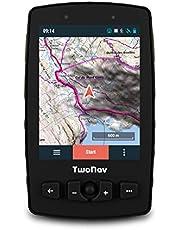 """TwoNav - Aventura 2 Motor GPS para Deportes Motor, Pantalla de 3.7"""" Gorilla Glass, Gran Autonomía y Resistencia a Temperaturas e Impactos, Glonass + Galileo, Incluye Tarjeta SIM, Color Verde"""