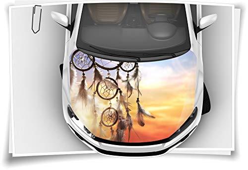 Medianlux Dreamcatcher Indianer Spirit Motorhaube Auto-Aufkleber Steinschlag-Schutz-Folie Airbrush Tuning Car-Wrapping Luftkanalfolie Digitaldruck Folierung