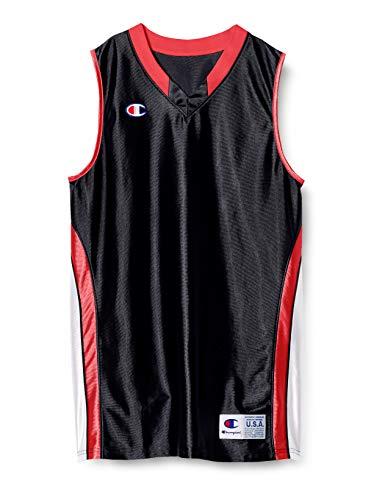 [チャンピオン] タンクトップ 速乾 ワンポイントロゴ ゲームシャツ バスケットボール GAME CBR2204 メンズ ブラック S