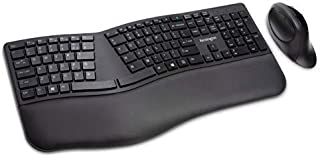 Kensington Pro Fit Ergonomic Wireless Keyboard and Mouse - Black (K75406US)