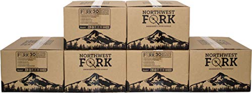NorthWest Fork Gluten-Free 6 Month Emergency Food Supply (Kosher, Non-GMO, Vegan) - 10+ Year Shelf Life - 6 x 90 Servings