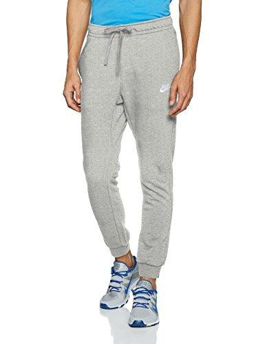 Nike M NSW JGGR CLUB FLC, Pantalone Uomo, Grigio Scuro/Bianco, XXL