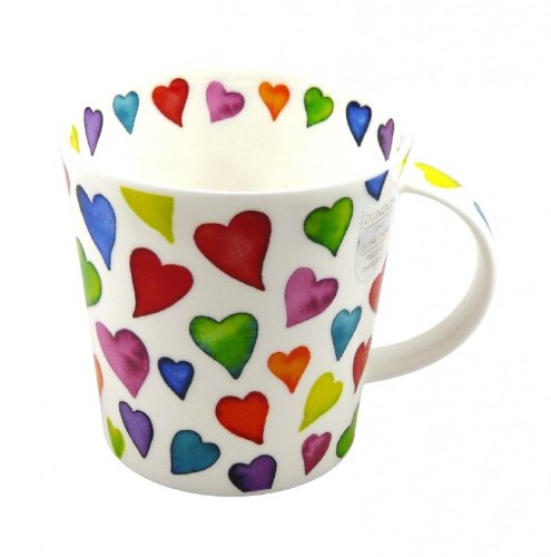 Dunoon Tasse Cairngorm Warm Hearts 480ml