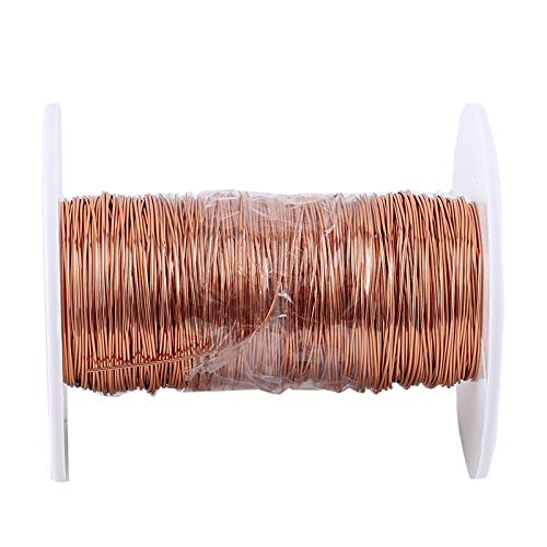 Magnetdraht, Kupferlackdraht 0,5 mm x 50 m Kupferlack-Magnetdraht für Transformatoren Induktivitäten