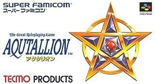 Tecmo's Aqutallion (aka Secret of the Stars) Super Famicom (Super NES Japanese Import)