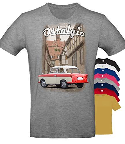 BuyPics4U T-Shirt mit Motiv Trabant Tr17 100% Baumwolle für Herren Damen Kinder viele Farben
