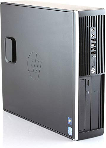 PC Computer Desktop HP Compaq 6200, Windows 10 Professional, Intel Core i3-2100, Memoria Ram 4GB DDR3, Hard Disk 250GB (Ricondizionato)