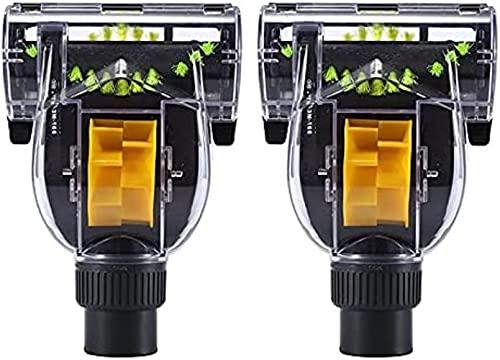 Piezas de repuesto para aspiradora Aspiradora para electrodomésticos Aeecssory Turbo Floor Tool Cepillo de cabeza para ácaros Cepillo para accesorios de aspiradora absoluta Karcher VC3(Color:Negro) Se
