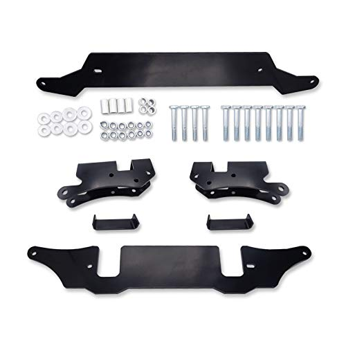 WSays 3''-5'' Front and Rear Suspension Full Lift Kit Rise Mount Bracket Compatible with Polaris RZR XP 1000/ XP 4 1000 2014-2021