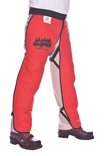 LABONVILLE Premium Chainsaw Chaps - Overall Length 32