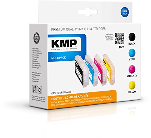 KMP Multipack für Brother DCP-130/MFC-240C, B9V