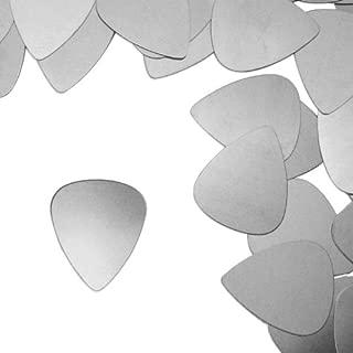 ImpressArt, Aluminum Stamping Blanks, Guitar Pick (Large)- 24 pc.
