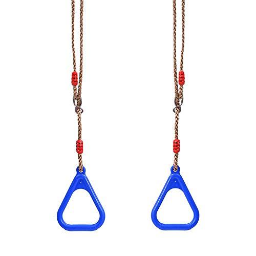 NA Bambini che scuotono le mani e gli anelli da arrampicata con corde-swing sostituzione e addizionali-bambini 3 anni in su