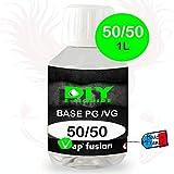 Base neutre - 1L- PG/VG - 50/50 - DIY E LIQUIDE - Vapfusion - Sans nicotine ni tabac