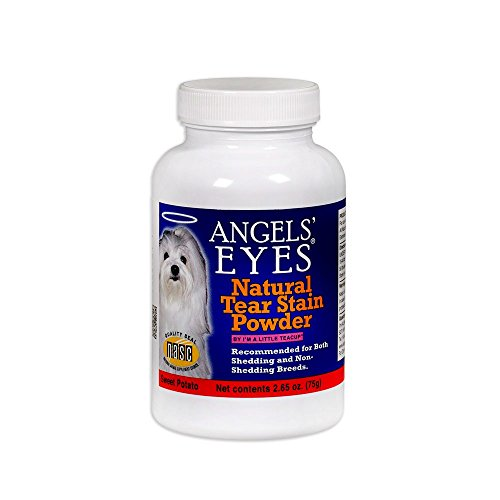 Angels  Eyes NATURAL Tear Stain Prevention Powder for Dogs and Cats - 75 gram - Sweet Potato Formula