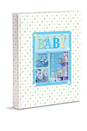 Herinneringsboek Neonato 17 x 24 cm lichtblauw