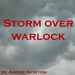 Storm over Warlock audiobook cover art