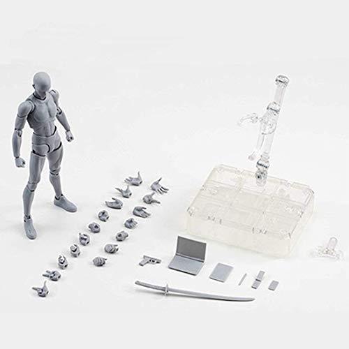 Artists' manichini mobili vernice manichino bambola obbligatoria per disegno action figure modello (maschio)