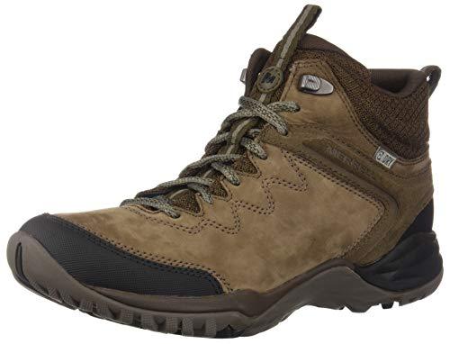 Merrell Siren Traveller Q2 Mid Waterproof, Chaussures de Randonnée Hautes Femme, Gris (Slt/Blk), 38 EU