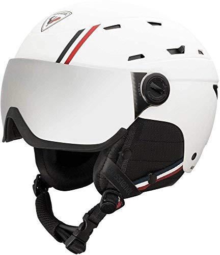 Rossignol - Casque De Ski Allspeed Visor Impacts Homme Blanc - Homme - Taille XXL - Blanc