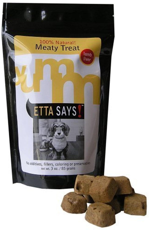 3Ounce Etta Says. Freezedried Lamb Liver Treats, by Etta Says (English Manual)